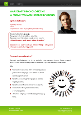 Informacje do oceny ryzyka - Szpital Powiatowy w Białogardzie