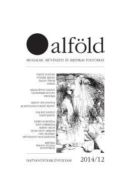 irodalmi, művészeti és kritikai folyóirat hatvanötödik évfolyam