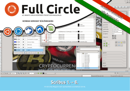Scribus 1 . – 8. - Full Circle Magazin