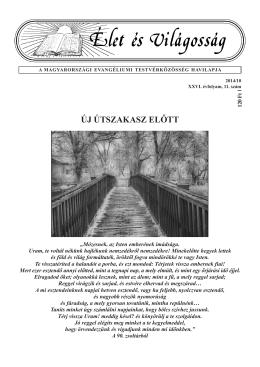 November - Magyarországi Evangéliumi Testvérközösség