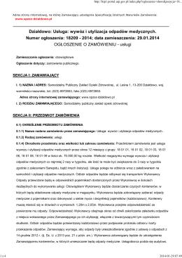Rozporządzenie Ministra Zdrowia z dnia 6 grudnia 2013 r.