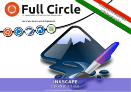 Inkscape 1-7. rész - Full Circle Magazin