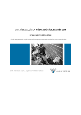 Közhasznúsági jelentés 2014 letöltése (PDF)