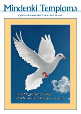 2010. Pünkösd - A Mindenki Temploma honlapja