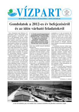02. - Alsó-Tisza-vidéki Vízügyi Igazgatóság