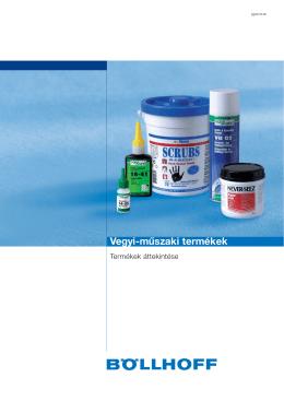 Vegyi-műszaki termékek - Böllhoff Magyarország