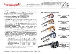 pulsFOG ködképzőgépek változatai