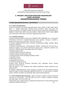 Projekt - Nowogród Bobrzański, Urząd Miasta