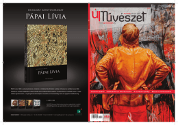 www.uj-muveszet.hu Caliban szabad ∆ Csörgő Attila