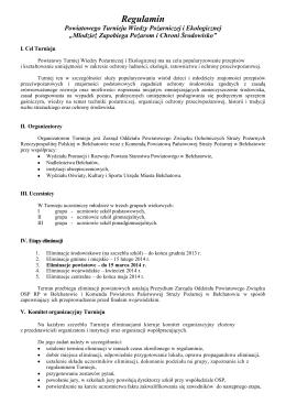 regulamin rekrutacji-1.pdf - Aktualności z Gminy Niebylec