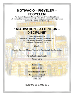 motivation – attention – discipline