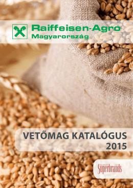 Vetőmag katalógus 2015, Raiffeisen