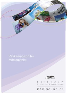 Patikamagazin.hu médiaajánlat