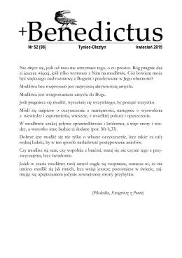 Benedictus - Opactwo Benedyktynów w Tyńcu