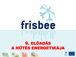 Hűtéstechnika FRISBEE IV.