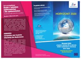 Horyzont 2020- Doskonała baza naukowa