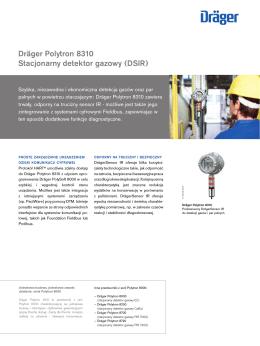 Dräger Polytron 8310 Stacjonarny detektor gazowy (DSIR)