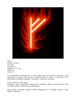 Futhark (Rúnák) - Spirits of Eridu