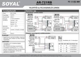 AR-721RB HU.pdf