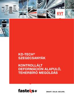 FASTEKS+ KD-TECH® Szegecsanyák | KVT
