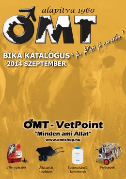 Bika katalógus 2014.szeptember
