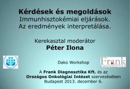 Dr. Péter Ilona - Frank Diagnosztika