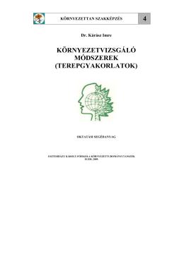 letöltés, .pdf - Földrajz és Környezettudományi Intézet