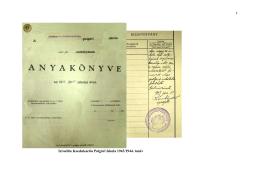 Izraelita Koedukációs Polgári Iskola 1943/1944 tanév névsora