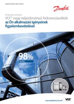 VLT® nagy teljesítményű frekvenciaváltók az Ön