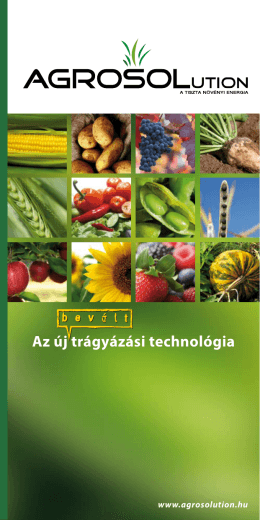 letöltheti - Agrosolution