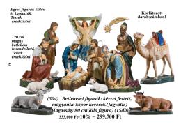 Betlehem - Kerekes kegytárgy nagykereskedés