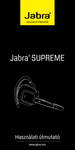 Jabra® SUPREME