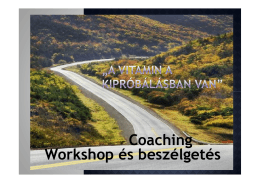 (Microsoft PowerPoint - Coaching workshop.ppt