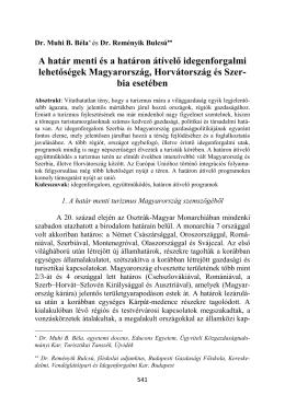 Muhi B. Béla és Reményik Bulcsú