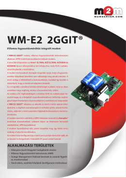 WM-E2 2GGIT® - Wireless