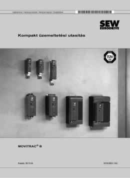 Kompakt üzemeltetési utasítás MOVITRAC® B - SEW