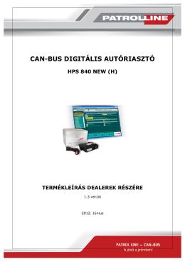 can-bus digitális autóriasztó hps 840 new (h) termékleírás dealerek