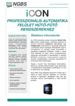 i-CON automatika műszaki leírás