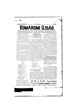 """ G R A N D "" kávéház - Jókai Mór Városi Könyvtár Komárom"