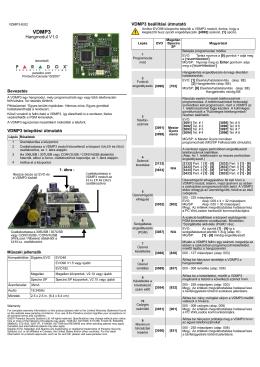 Paradox VDMP3-EI02_hun telepitoi