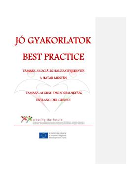 JÓ GYAKORLATOK BEST PRACTICE