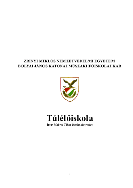 Túlélőiskola - WordPress.com