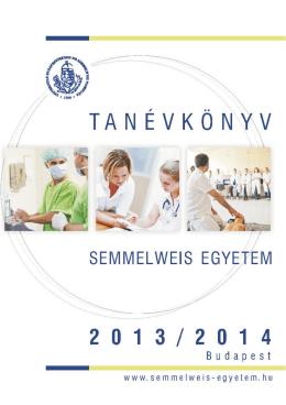 Tanévkönyv - Semmelweis Kiadó