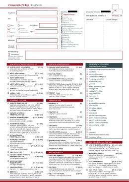Kisállat kérőlap pdf formátumban
