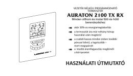 auraton 2100 tx rx