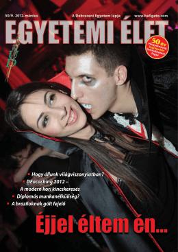 A modern kori kincskeresés (Egyetemi Élet, 2012