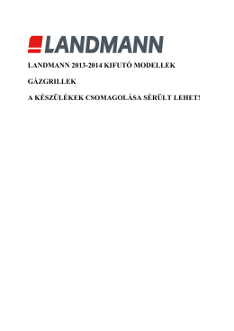 akciós grill modellek 2014 jÚLIUS