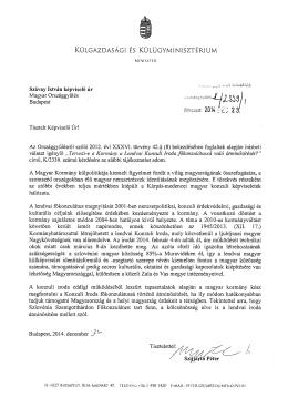 válasz - Alfahir.hu