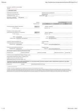 Kézilabda TAO pályázat 2014-2015 - Dunakeszi Kinizsi Utánpótlás