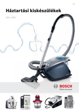 Bosch kisgép katalógus 2012-2013